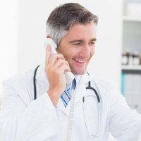 recruit physician-telephone-interviews