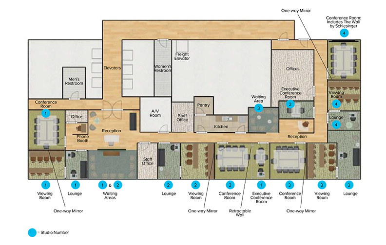 Los Angeles Floor Plan